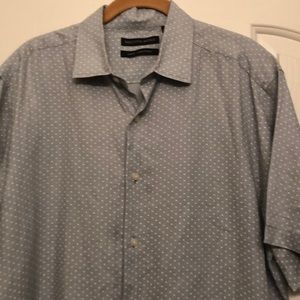 🎀 Saks Fifth Avenue Slim Fit Shirt Linen
